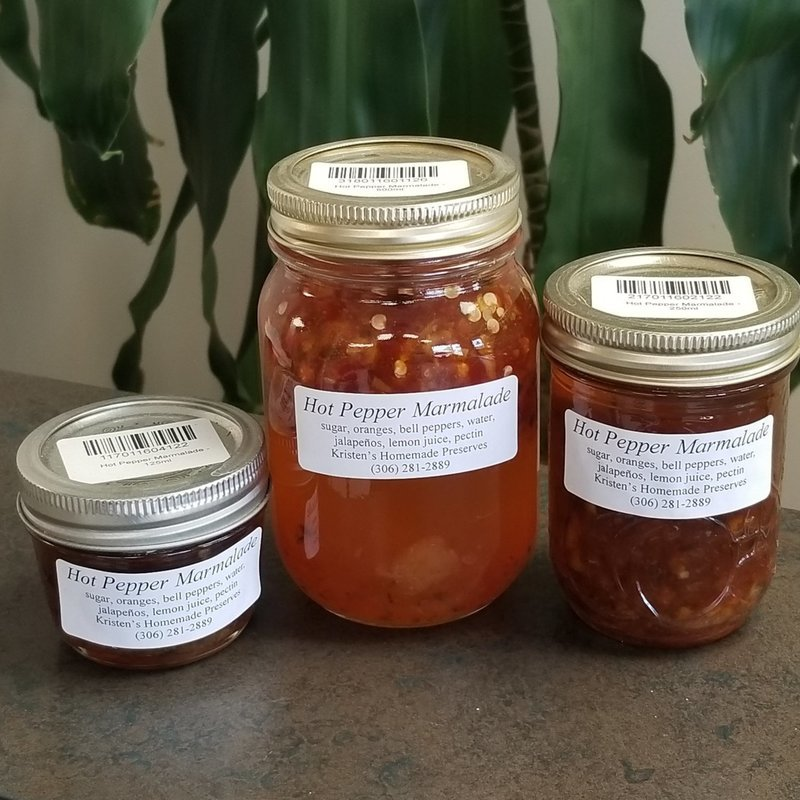 Hot Pepper Marmalade