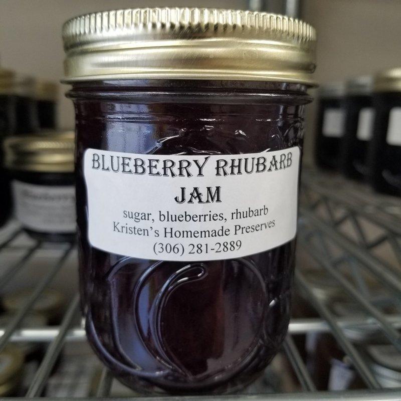 Blueberry-Rhubarb Jam
