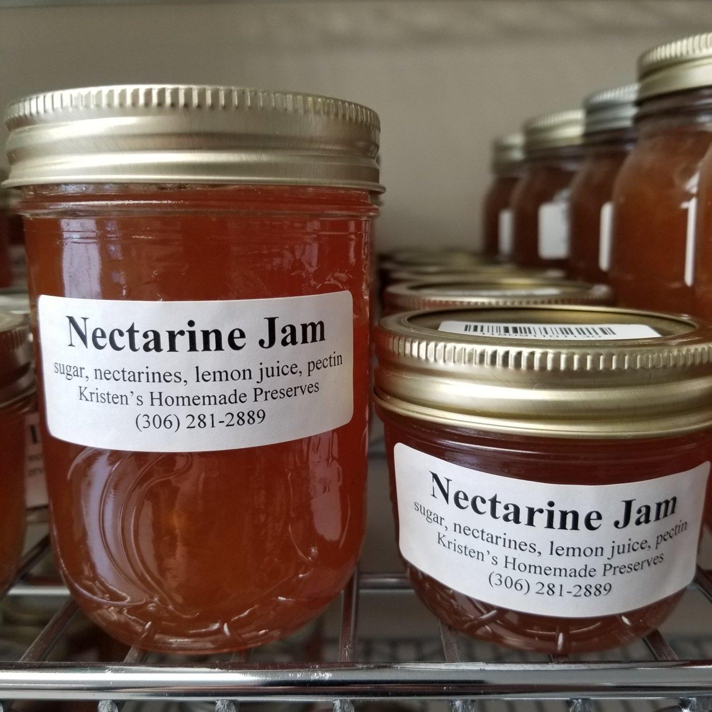 Nectarine Jam