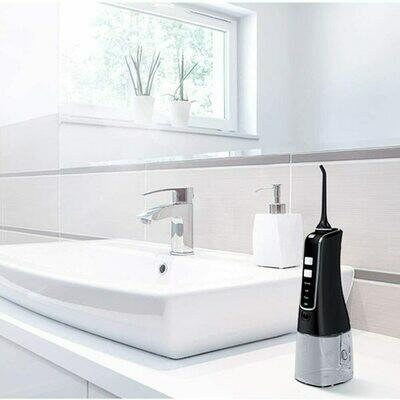 Električna zobna prha Airfloss za učinkovito čiščenje medzobnih prostorov