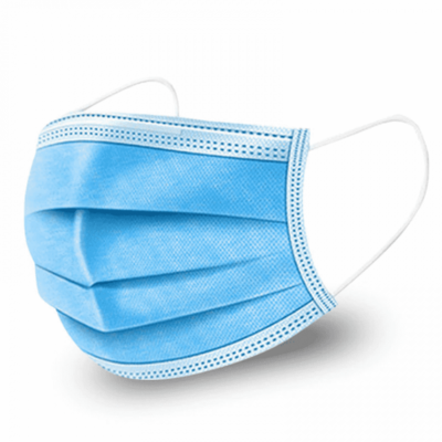 Medicinska zaščitna maska z certifikatom EN 14683:2019 | 50 kos