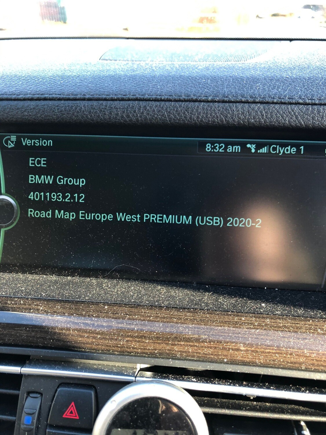 2020-2 BMW PREMIUM  MOVE MOTION SAT NAV UPDATE