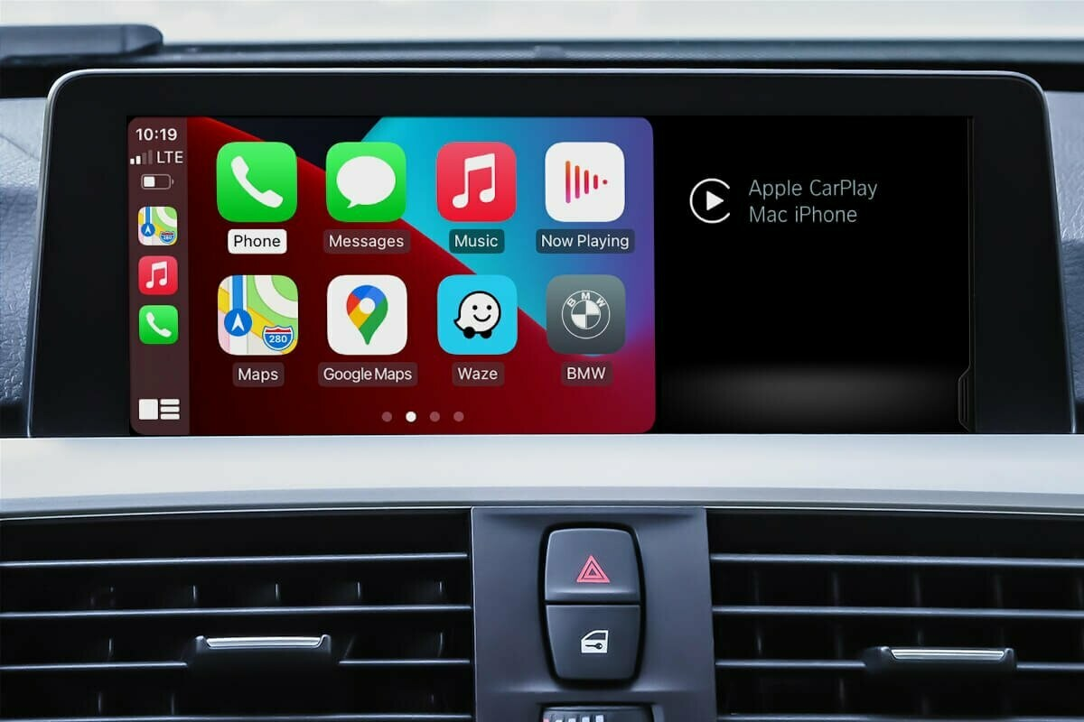 BMW NBT EVO ID5 APPLE CARPLAY VIM ANDROID SCREEN MIRRORING ACTIVATION