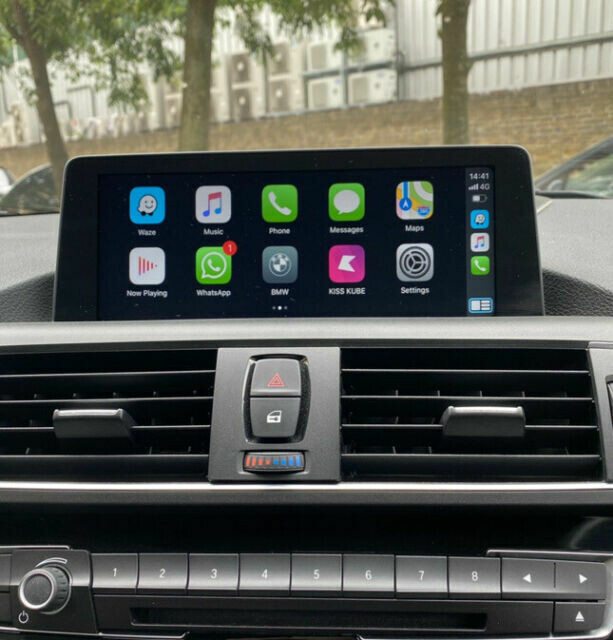 BMW NBT EVO ID5/6 APPLE WIRELESS CARPLAY VIM ANDROID SCREEN MIRRORING ACTIVATION