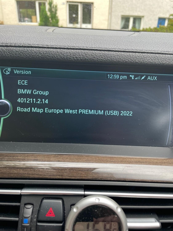 2022-1 BMW PREMIUM  MOVE MOTION SAT NAV UPDATE
