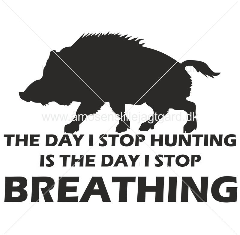 Folie-/Strygemærke - The day i stop