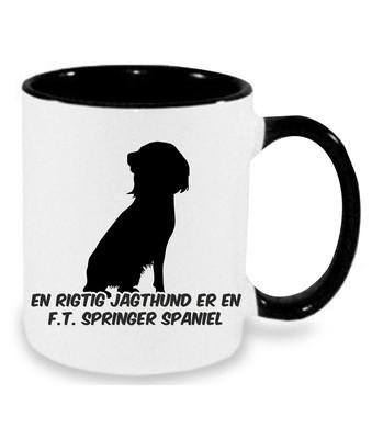 Krus med F.T. Springer Spaniel