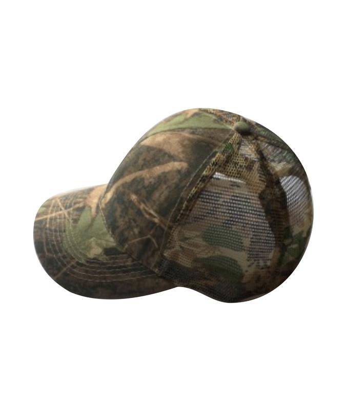 Camouflage caps med net - True Timber model