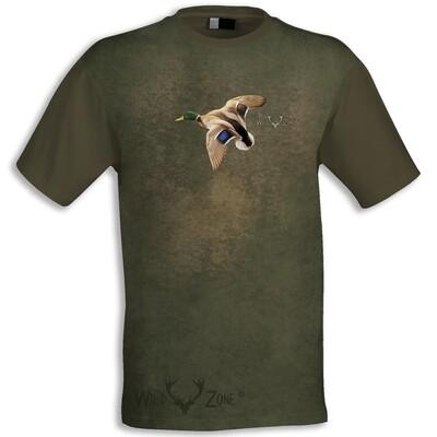 T-shirt med print af And