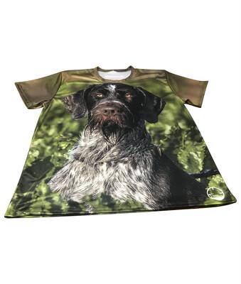 Fuldfarvet T-shirt med DIT eget billede - Herre/Uni model