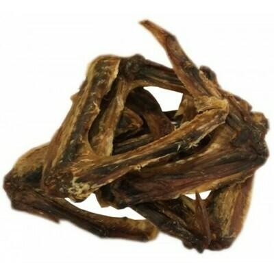 Naturlige snacks - Andevinger 200 gram.