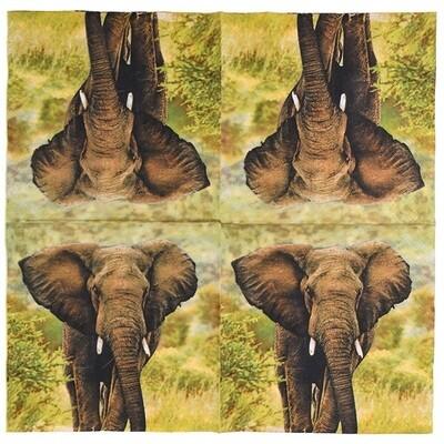 Servietter med Elefant