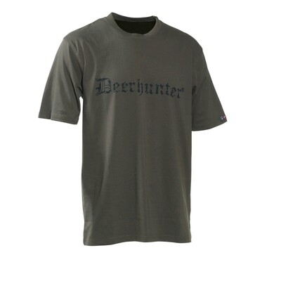 Deerhunter -Logo T-shirt K/Æ (Str. S)