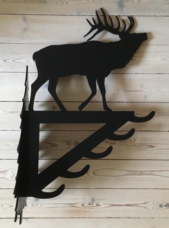 Stor vildtkrog - Kronhjort