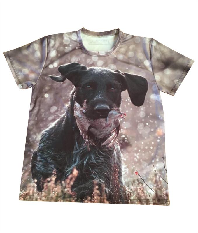 Fuldfarvet T-shirt med DIT eget billede - Junior model