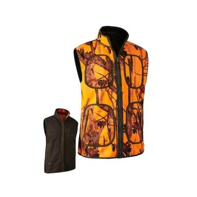 Deerhunter Gamekeeper Bonded Fleece vest - Online tilbud!