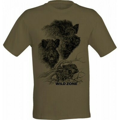 Wild Zone T-shirt med print