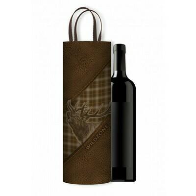 Vinholder/taske med print af Kronhjort