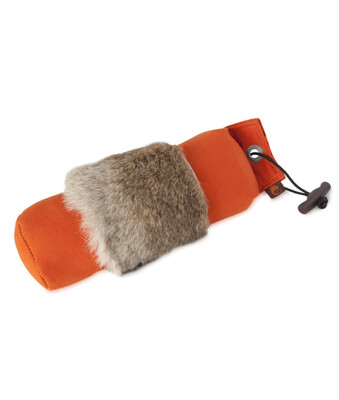 Firedog dummy med kaninskind - 500 gr.