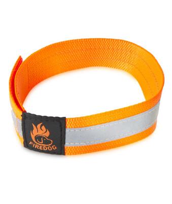 Firedog refleks halsbånd med velcro