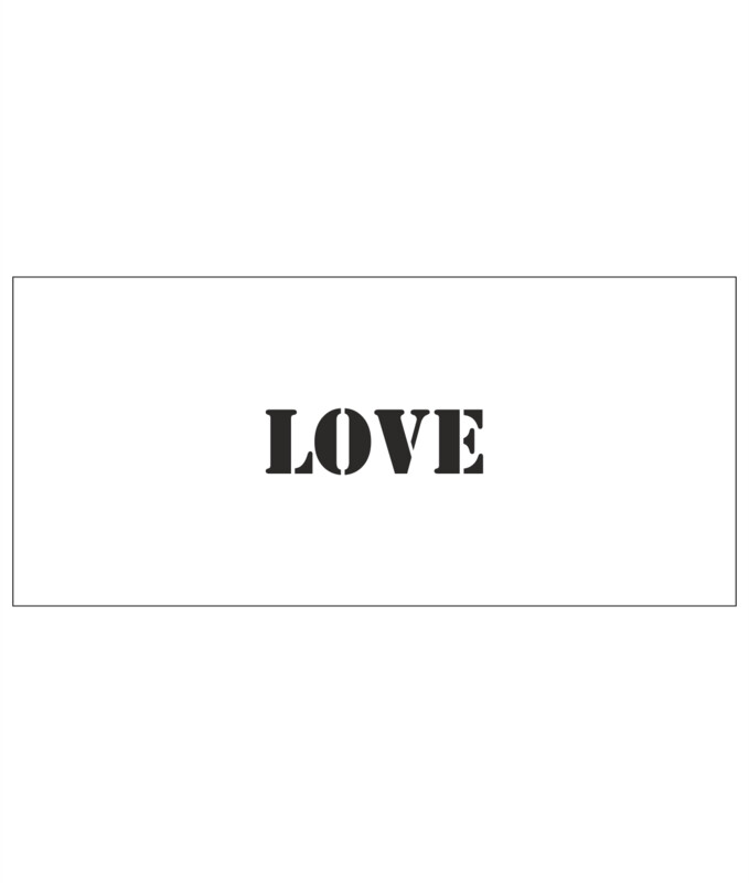 Stencils - Love