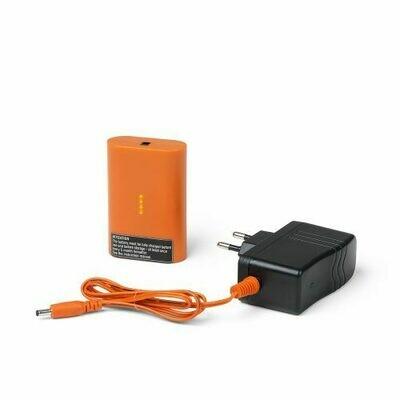 Nordic Heat oplader sæt 220V lader + batteri