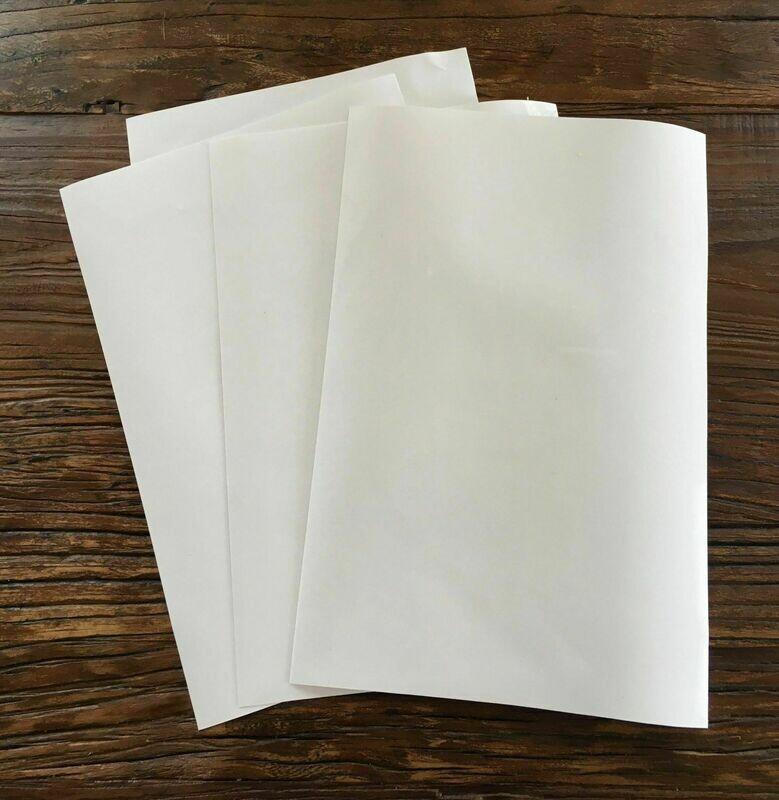 Chokomærker - Fødevare godkendt folie/venyl til at skære i selv 4 ark.