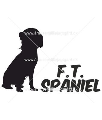 Foliemærke - F.T. Spaniels