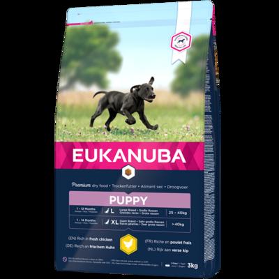 Eukanuba Puppy large breed 15 kg.