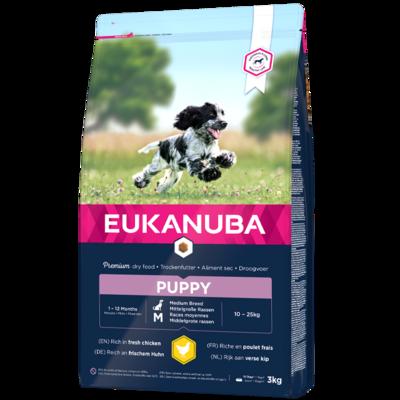 Eukanuba Puppy medium breed 15 kg.