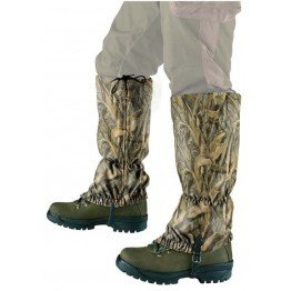Gaiters i lys camouflage real tree