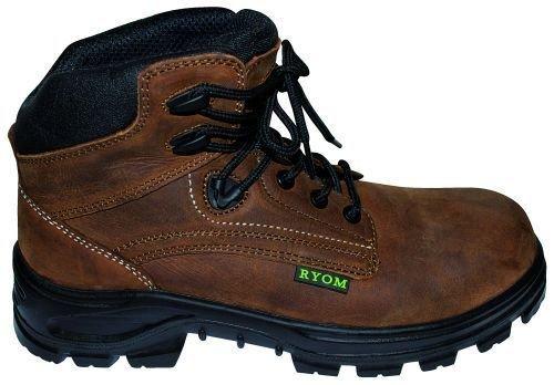 Læder støvle m. sikkerhed - Letvægt