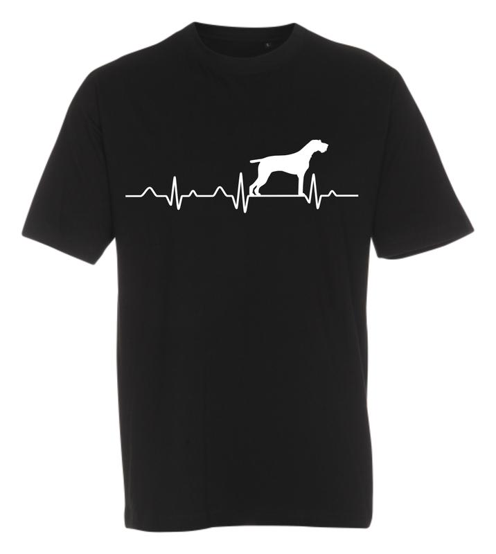 T-shirt med tryk fra XS til str. 4-XL - Hunde