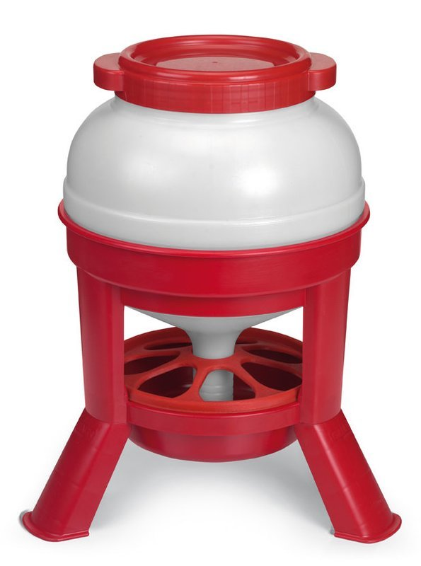 Jumbo foderautomat på ben - Flere størrelser