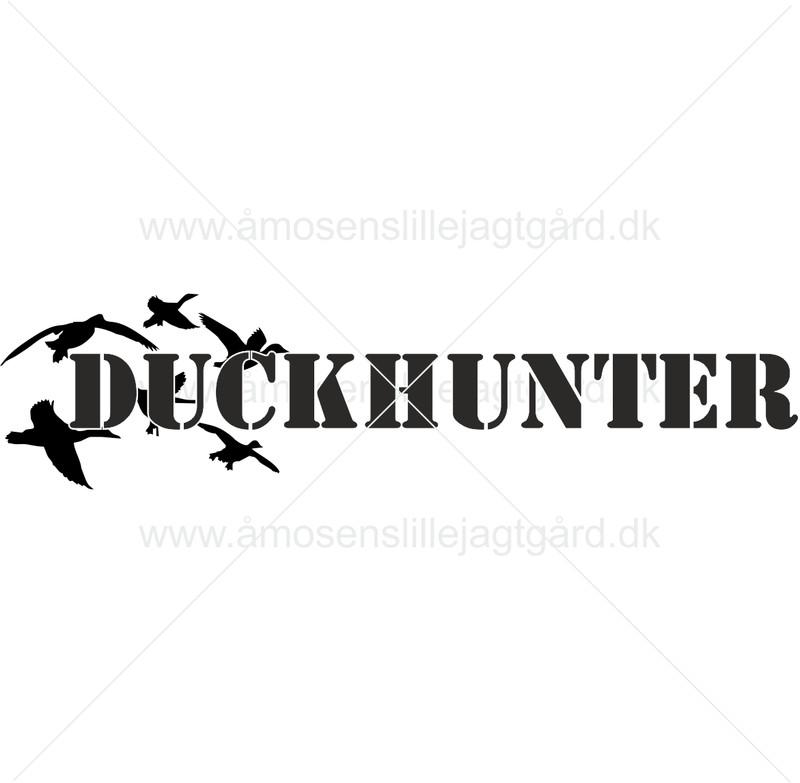 Folie-/Strygemærke - Duckhunter
