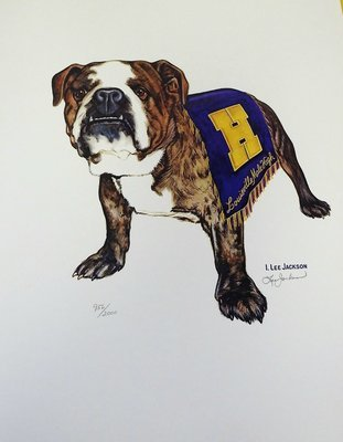 20th Century Bulldog Print (16x20)