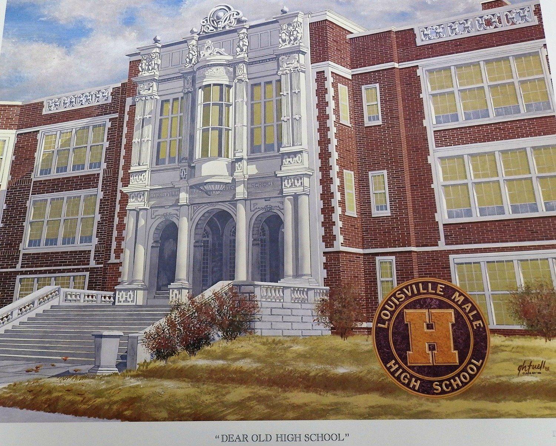 Dear Ole High School Color Picture (24 x 20)