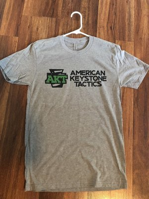 Gray AKT next level T-shirt