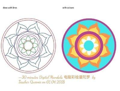 📌 Noon:【 Saturday Digital Media Design 周六电脑绘画班 @ Lara's Place, Petaling Jaya】