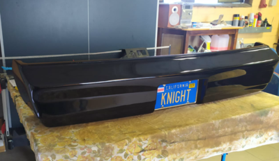 Season 1/2 Rear Bumper (With plexi groove)