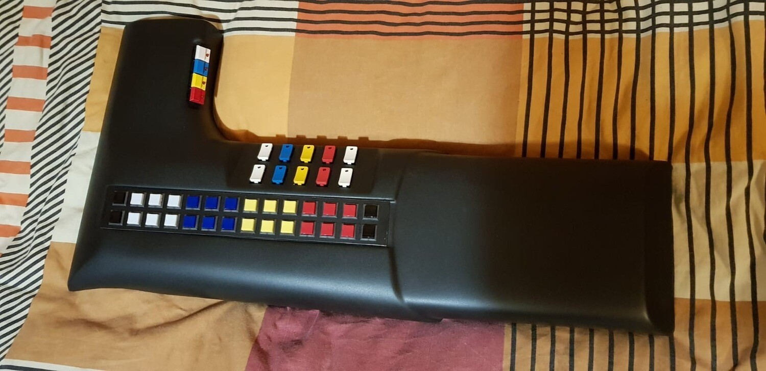 Season 2 Upper Console (With electronics)