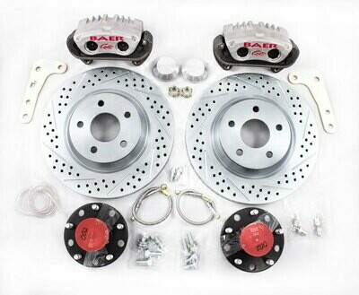 Baer Black Label Front Brake Kit (12 or 13 rotors)