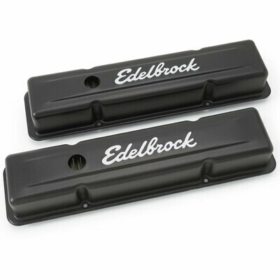 Edelbrock Signature Series Valve Covers Small Block Chevy 262-400
