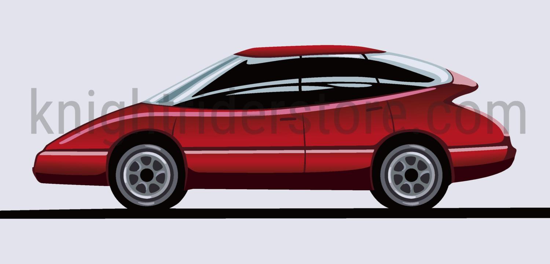 Semi Interior Sports Car Prints + Schematics