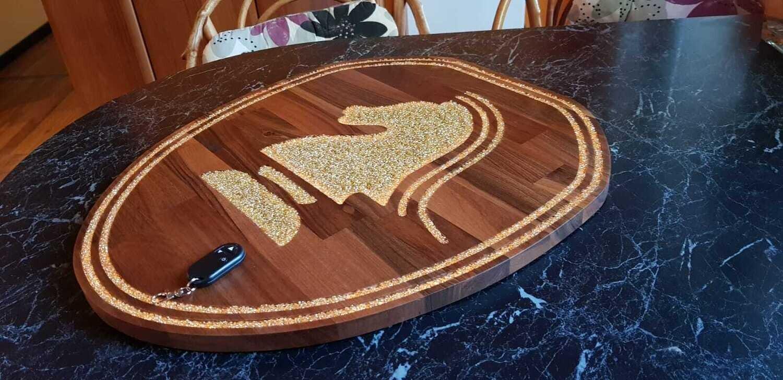 Knight Rider Custom Logo Lamp - Exclusive Edition