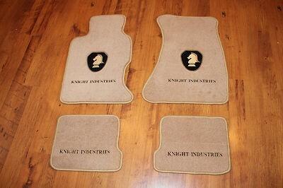 Knight Rider Floor Mats (Knight Logo)