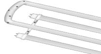 LED - T8 - U-Bend Tubes - 120� Beam