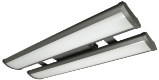 LED - 4' Linear High-Bay Fixture - 2 Lamp
