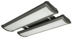 LED - 2' Linear High-Bay Fixture - 2 Lamp
