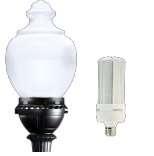 LED - Post-Top Acorn Area / Parking (Lamp & Driver Included)